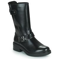 Shoes Women Mid boots Chattawak CAROLINA Black