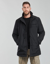 material Men Trench coats G-Star Raw UTILITY HB TAPE PDD TRENCH Black