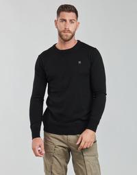 material Men jumpers G-Star Raw PREMIUM BASIC KNIT R LS Black