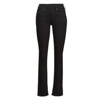material Women straight jeans G-Star Raw NOXER STRAIGHT Black