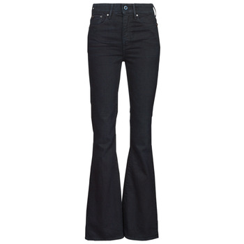 material Women bootcut jeans G-Star Raw 3301 FLARE Blue