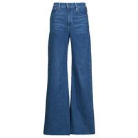 material Women bootcut jeans G-Star Raw DECK ULTRA HIGH WIDE LEG Blue
