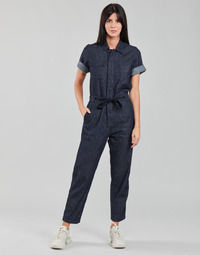 material Women Jumpsuits / Dungarees G-Star Raw ARMY JUMPSUIT SS Blue