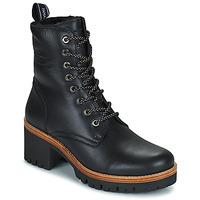 Shoes Women Mid boots Panama Jack PADMA Black