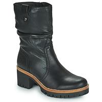 Shoes Women Mid boots Panama Jack PIERA Black