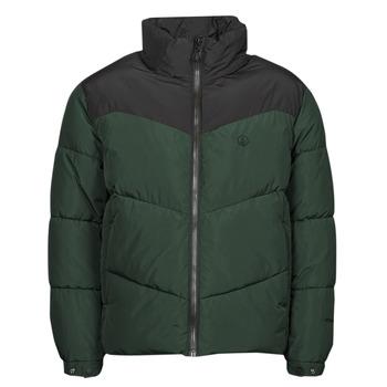 material Men Duffel coats Volcom GOLDSMOOTH JACKET Green / Black