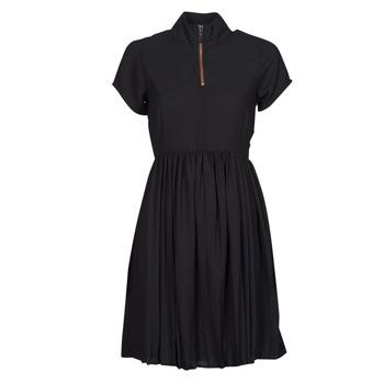 material Women Short Dresses Volcom DOTSABILLY DRESS Black