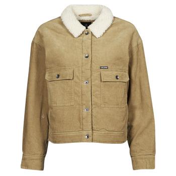 material Women Jackets / Blazers Volcom WEATON JACKET Beige