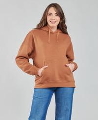 material Women sweaters Volcom STONE HEART HOODIE Brown