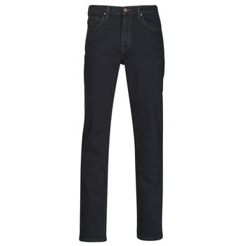 material Men straight jeans Lee BROOKLYN STRAIGHT Blue / Black
