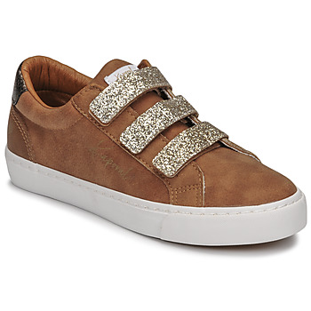 Shoes Women Low top trainers Kaporal TIPPY Camel