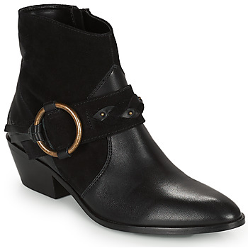Shoes Women Ankle boots Kaporal PEARL Black