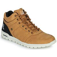 Shoes Men High top trainers Kaporal DAWSON Camel / Black