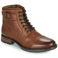 Shoes Men Mid boots Kaporal ANDERSON Brown
