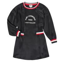 material Girl Short Dresses Karl Lagerfeld RUBIS Black