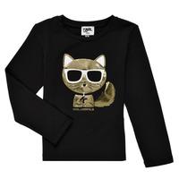 material Girl Long sleeved shirts Karl Lagerfeld AMETHYSTE Black