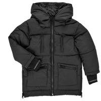 material Girl Duffel coats Karl Lagerfeld DIAMANT NOIR Black