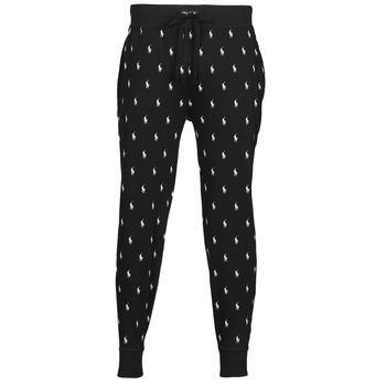 material Men Tracksuit bottoms Polo Ralph Lauren JOGGER PANT SLEEP BOTTOM Black