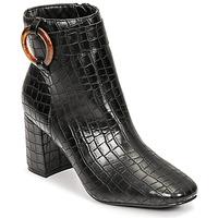 Shoes Women Ankle boots Moony Mood PULIA Black