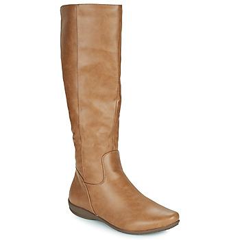 Shoes Women Boots Moony Mood PLERILA Camel