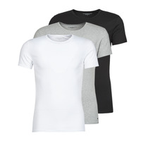 material Men short-sleeved t-shirts Tommy Hilfiger STRETCH TEE X3 White / Grey / Black