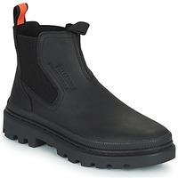 Shoes Mid boots Palladium PALLATROOPER WATERPROOF Black