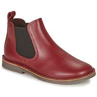 Shoes Children Mid boots Citrouille et Compagnie HOVETTE Bordeaux