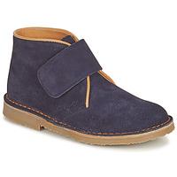 Shoes Boy Mid boots Citrouille et Compagnie NANUP Marine