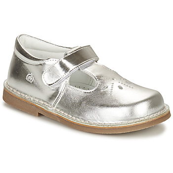 Shoes Girl Ballerinas Citrouille et Compagnie NEW 20 Silver
