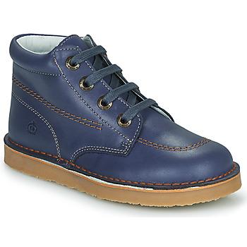 Shoes Boy Mid boots Citrouille et Compagnie NEW 22 Marine