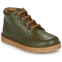 Shoes Boy Mid boots Citrouille et Compagnie NEW 22 Green