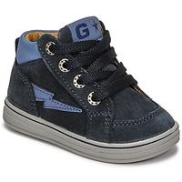 Shoes Boy High top trainers Citrouille et Compagnie PALLA Marine