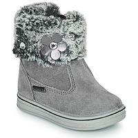 Shoes Girl Mid boots Citrouille et Compagnie PALADOU Grey