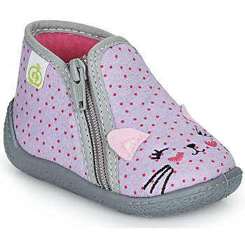 Shoes Girl Slippers Citrouille et Compagnie PUSILI Grey