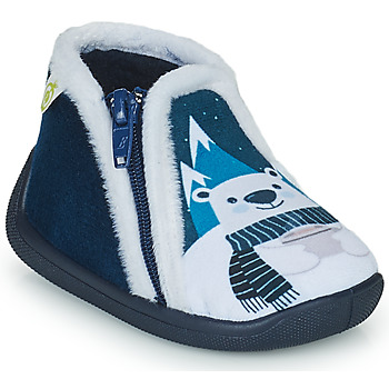 Shoes Boy Slippers Citrouille et Compagnie POLONE Marine
