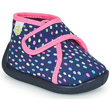 Shoes Girl Slippers Citrouille et Compagnie PASTACARBO Marine