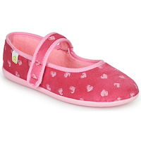 Shoes Girl Slippers Citrouille et Compagnie PIWOINE Fuschia
