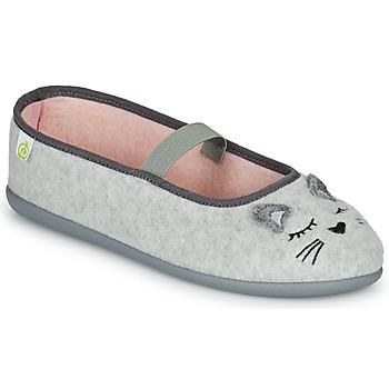 Shoes Girl Slippers Citrouille et Compagnie PASTALDENTE Grey