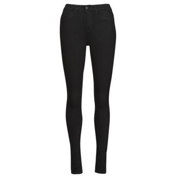 material Women slim jeans Noisy May NMCALLIE Black