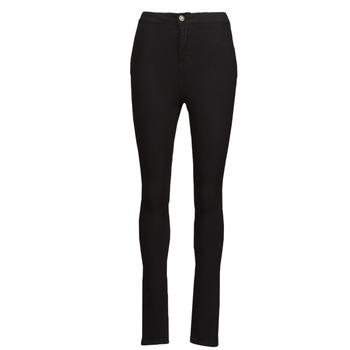 material Women slim jeans Noisy May NMELLA Black