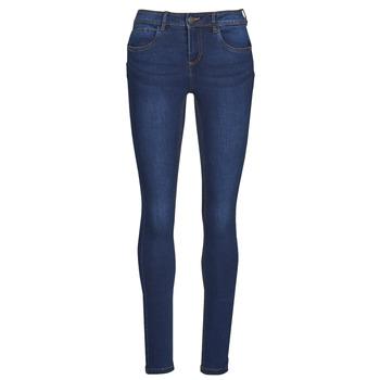 material Women slim jeans Noisy May NMJEN Blue / Dark