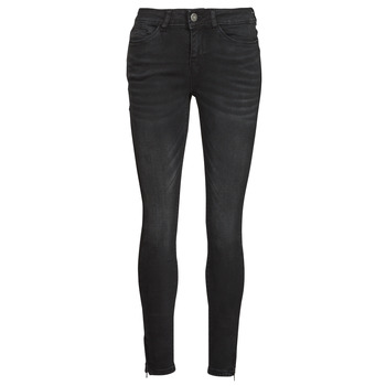 material Women slim jeans Noisy May NMKIMMY Black