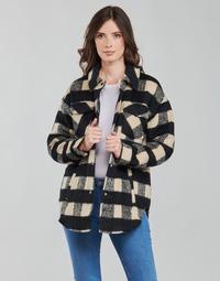 material Women Jackets / Blazers Noisy May NMLULU Beige / Black