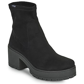 Shoes Women Boots Victoria ATALAIA CHELSEA Black