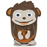 Bags Children Rucksacks Affenzahn MONKEY Brown