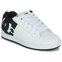 Shoes Men Skate shoes DC Shoes COURT GRAFFIK White / Black