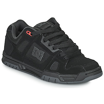 Shoes Men Low top trainers DC Shoes STAG Black / Grey