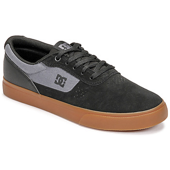 Shoes Men Low top trainers DC Shoes SWITCH Black / Grey