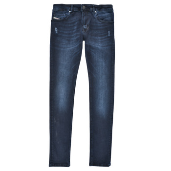 material Boy Skinny jeans Diesel SLEENKER Blue / Dark