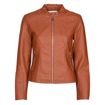 material Women Leather jackets / Imitation leather Vila VIBLUE Rust
